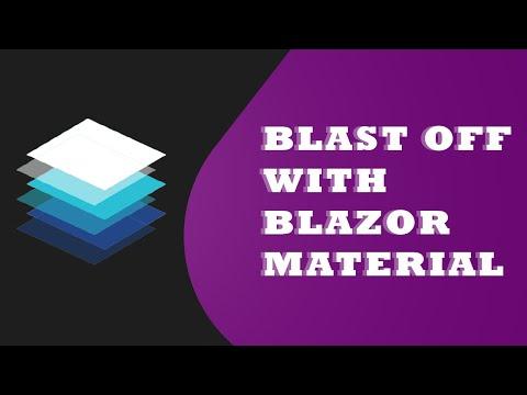 Blazor with Material Design Framework - MatBlazor (Part - 1)